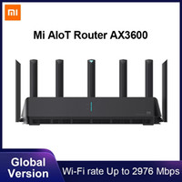 Xiaomi Mi Aiiot Router AX3600 WiFi 6 Dual-Band 2976 MBS Gigabit Vota WPA3 Security Encryption Mesh WiFi Amplificatore del segnale esterno
