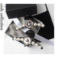 Autre Arrivée Coréen Imitation Pearl Coiffure Clips Clips Vintage Camélis Simple Camellia Pommes à cheveux luxueux élégant pour les accessoires de fille1