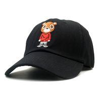 Yeni Ayı Baba Şapka Güzel Beyzbol Şapkası Yaz Erkekler Kadınlar Için Snapback Kapaklar Unisex Özel Sürüm Hip Hop Kanye West Ye Şapka
