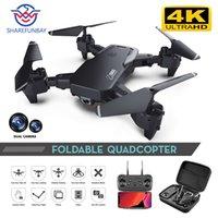 Sharefunbay Drone 4K HD широкоугольный камера 1080P Wi-Fi FPV беспилотный двойной камера Quadcopter высота Думовая камера Дрона 201105