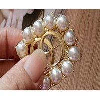 3pcs perle floral cristal broche rhoudium perle fleur pins et broches pour femmes mariage brio sqcyda dh_seller2010