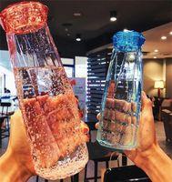 Kunststoff Wasserflasche Mode Reise Becher Sport Wasserflaschen Camping Wandern Wasserkocher Trinkbecher Diamant Geschenk Freies Verschiffen M2