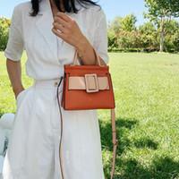 HBP women new Contrast color mini tote bag 2021 fashion new high quality PU leather lady designer handbag travel shoulder messenger bag