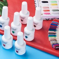 Anlylan 15ml gel esmalte esmalte glitter para manicure conjunto nail art semi platium uv diodo emissor de luz lâmpada de lâmpada vernizes Base top coat gel laca