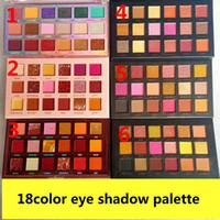 حار 18 اللون ظلال العيون لوحة ماكياج 18 ألوان ظلال العيون لوحة ماتي جودة عالية dhl شحن مجاني