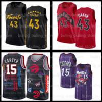 Pascal 43 Siakam Jerseys Vince 15 Carter 2020 2021 New TorontoRapaciTracy 1 McGrady Kyle 7 Lowry Men Youth Kids Basket