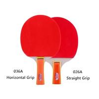 Настольный теннис Raquets 2 шт. Спортивные товары Подлинная Двойная рыба 026A / 036A Ракетка для начинающих