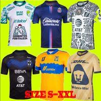 Tamanho S-4XL LIGA MX 21 22 Club América Futebol Jerseys Leon Terceiro 2021 2022 Camisetas Tijuana Tigres Unam Chivas 115th 115 Anos Kit Football Shirts