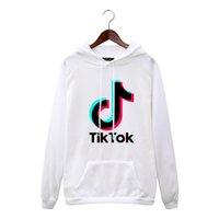 Tik Tok Software Nouveau imprimé Hood Women / Hommes Vêtements populaires Harajuku Casual Vente chaude Hoodies Sweat-shirt