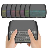 Original Hintergrundbeleuchtung D8 s Mini Keyboard 2.4GHz Wireless Air Mouse Touchpad Controller für X96 TX3 Mini S905W Android TV Box