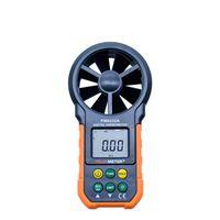 المتر المحمولة يده الرياح تدفق الهواء سرعة مؤشر anemometro الحرارية الرطوبة الرقمية مقياس الرطوبة السعر peakmeter PM6252 آمنة وموثوق بها