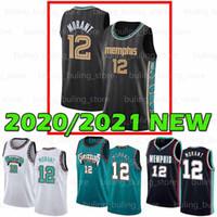 2021 New JA 12 Morant Basketball Jaren 13 Jackson JR Murray State University College Herren Jugend Kinder Trikots