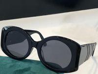 0810 Yeni Moda Güneş Gözlüğü Ile UV Koruma Için Erkekler Ve Kadınlar Vintage Oval Çerçeve Popüler En Kaliteli Case Klasik Güneş Gözlüğü Ile Gel