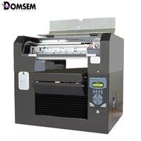 프린터 DOMSEM T- 셔츠 의류 천으로 DTG 인쇄 기계 A3 크기 8 색 CMYK + WWWW 프린터 DX5 프린트 헤드가 퇴색하지 않음