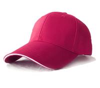Snapbacks Hats Four Seasons Хлопок Открытый Спорт Регулировка Cap Письмо Вышитые Шляпы Мужчины и Женщины Солнцезащитный крем Sunhat Cap
