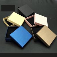 Hohe Qualitäts-Ins-Mode-Rosa-Blau-Schmuckschatulle für Verpackungsring-Halskette-Armband-Empfangsgeschenk-Mehrzweck