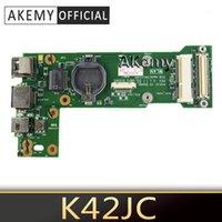 팬 냉각 Akemy K42JC Rev2.0 Rev 2.1 IO 보드 asus k42j x42j a42j a40j k42jr k42jz k42jy K42JV 전원 USB Power1