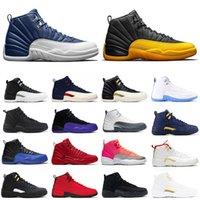 Sıcak Satış 12 12 S Erkek Basketbol Üniversitesi Altın Koyu Concord Kışlık Wntr Erkek Moda Açık Sneakers Eğitmenler Ayakkabı Boyutu 7-13