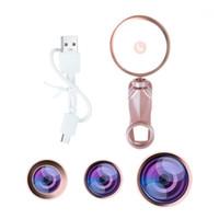 Selfie Anel Light com HD Fisheye Grande Angular Macro Lente Flash LED Fotografia de Telefone de Câmera para Tablet Laptop1