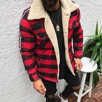 Giacche da uomo Giacca invernale Giacca calda Uomo Plaid Compound Cardigan Fashion Softshell Casual Keep Blush Peluche Top Cappotto Chaquetas Hombre1