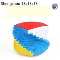 أحدث أعلى shengshou 13 طبقات 13x13x13 مكعب لاصق سرعة ماجيك لغز 13x13 التعليمية كوبو ماجيكو اللعب (128 ملليمتر) أطفال اللعب Y200428