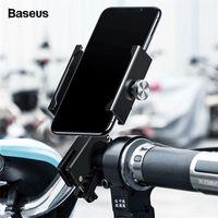 Mobiltelefonhalterung Halterung Baseus Motorrad Fahrradhalter Für Bike Mobile Stand Lenker Clip Moto Halterung Halterung Halter1