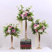 Декоративные цветы венки свадебные дороги железная ваза, искусственное украшение цветов, окно реквизита, добро пожаловать