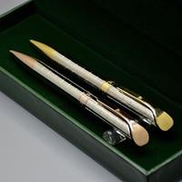 Beste Geburtstagsgeschenkstifte - Hohe Qualität RLX Branding Kugelschreiber Briefpapier Büro Schulbedarf Schreiben Sie glatt mit Boxverpackungen