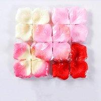 Artificial Rose Petals Forniture da sposa Decorazioni di Natale Decorazione di nozze Decorazioni di nozze Petali Fiori artificiali 35 Colore Can Scegliere XD24271
