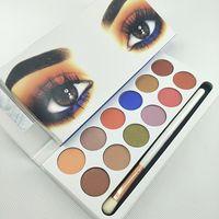 Maquillage pour les yeux KL Palette à paupières Money Baby Eye Shadow Palette 12 couleurs Matte Shimmer Palette Palette Expédition