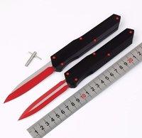 Munroe apocalyptic cyp suavização lidar com vermelho d2 dupla ação automática automática de dobramento de faca de pesca da faca de pesca de faca de caça presente de caça