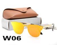 Telaio Polarized Luxury Ray Box Metallo Uomini Pilota Sunglasses UV400 Design Design Occhiali da sole Occhiali da sole Occhiali da vista Eyewear 3576 Lente Polaroid con Bans HGFMD