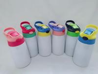 12 أوقية التسامي سيبي كأس الفولاذ الصلب كيد بهلوان معزول زجاجة المياه كذبة كوب البحر الشحن W0006