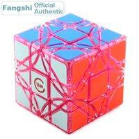 Fangshi f / s lim dreidel super canto girando 3x3x3 Magic Cube Limcube Rotation Ângulo 3x3 Skewed Velocidade Puzzle Brinquedos Educativos 201219