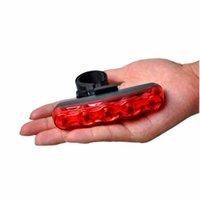 أضواء الدراجات للدراجات الخلفية الخلفية آمنة دراجة مصباح الجبل الصمام الأحمر على الملحق