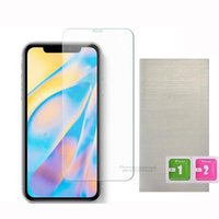 2.5D Clear Tempered Glass Phone Screen Protector For iPhone 12 11 xr xs max 6 7 8 Samsung Galaxy A11 A12 A01 A01S A02 A02S A22 A32 A42 A52 A72 S20 FE S21 Plus 5G