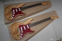Usine en gros Envoi gratuit Livraison gratuite Nouveau St Stratatocaster Red Color 6 String Guitare électrique Golden Hardware