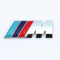 جديد M Power Series Logo Sticker Emblem Badge Chrom 1 3 4 5 6 7 E Z X M3 M5 M6 م مين ل BMW M QC65