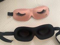 رخيصة السفر الراحة رمش النوم قناع العين نوعية جيدة النوم 3D قناع العين قناع تصميم جديد شخصية العين
