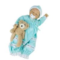Avani 인형 '이브'18 인치 어린이를위한 아기 인형 부드러운 실리콘 비닐 신생아