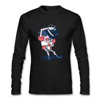 Хип-хоп Одежда Майкл Джексон Смешная футболка с длинным рукавом футболки Мужчины Новый грядущий человек рубашка 100% хлопка одежда абстрактный верх