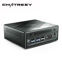 6 ميني كمبيوتر غير مرخص Intel Core 5257U الكمبيوتر قبل تثبيت نظام التشغيل Windows 10 نافذة دعم 7 / Linux Dual LAN LAN الثلاثي عرض VS U571