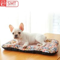Kennels Pens Smartpet Long Llush Pet Dog Dog Bed Soft Warm Cat Mat Matchet Sofá de invierno Cojín de la almohadilla de la perilla para un medio pequeño