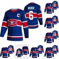 Gioventù Montreal Canadiens 2021 Reverse Retro Carey Price Shea Weber Paul Byron Karl Alzner Brendan Gallagher Dro0uin Toffoli TATAR Jersey