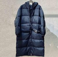 النساء desing الشتاء x- طويلة ستر أزياء المرأة الشتاء الملابس سترة واقية طويلة أسفل معطف مع الخصر حقيبة حزام الأزرق الأخضر اللون الحجم S م