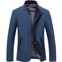 Erkek Ceketler Zity Yüksek Kalite 2021 Erkekler Rahat Ceket Palto Bahar Düzenli Ince Coat Erkek Giyim Artı Boyutu için 4XL