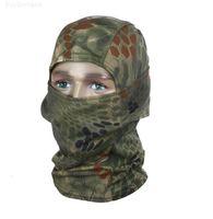 CS Açık Headgear Kamuflaj Tam Yüz Maskeleri Taktik Maske Spor Kapaklar Bisiklet Bisiklet Balıkçılık Motosiklet Kayak Balaclava Baş Hood Kapaklar