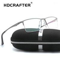 Moda Güneş Gözlüğü Çerçeveleri HDCrafter Alüminyum Magnezyum Gözlük Çerçevesi Kadın Reçete Gözlük Erkekler Gözlük Optical1