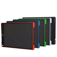 12 / 8.5 인치 LCD 작성 태블릿 디지털 드로잉 태블릿 필기 패드 휴대용 전자 태블릿 보드 펜 크리스마스 날