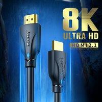 1080 P Altın Kaplama Video HDMI Kablosu, HDTV Splitter Anahtarı 3D Kablo, 0.5m, 1m, 1.5m, 2m, 3m, 5m, 10m, 12m, 15m, 20m